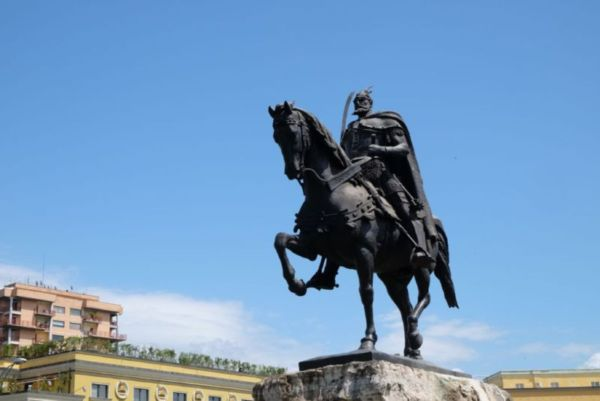 Skanderbeg, the national hero of Albania