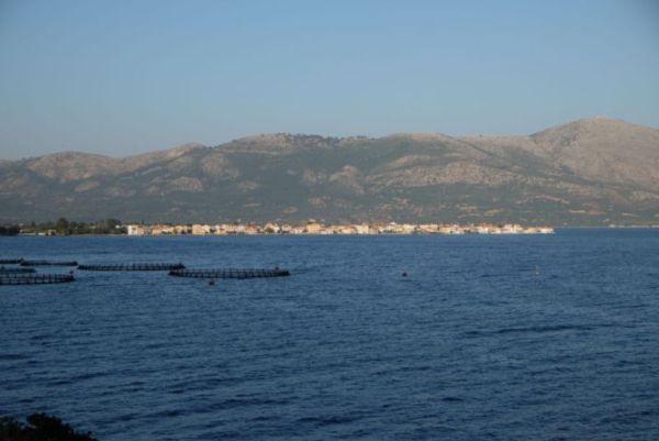 View across to Mitikas town