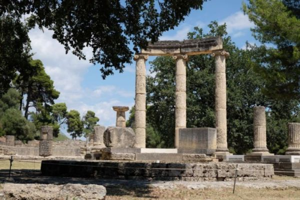 Olympia, home of many Greek temples and the site of the Olympics during the Classical period