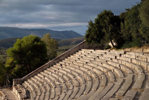The Anicent Epidaurus Theatre. This did actually live up to the impressive reputation that preceded my visit. The acoustics are a little mind-blowing.