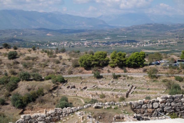 The Mycenaean civilisation at Mycenae (1600-1100BC) featuring big names such as Agamemnon and Orestes