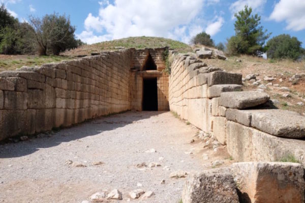 Potentially the grave burial of the potentially mythical Agamemnon