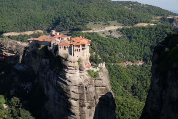 Another one of the six Meteora monasteries.
