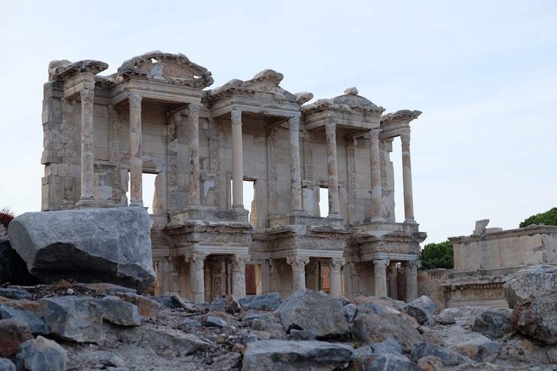 The iconic image of Ephesus