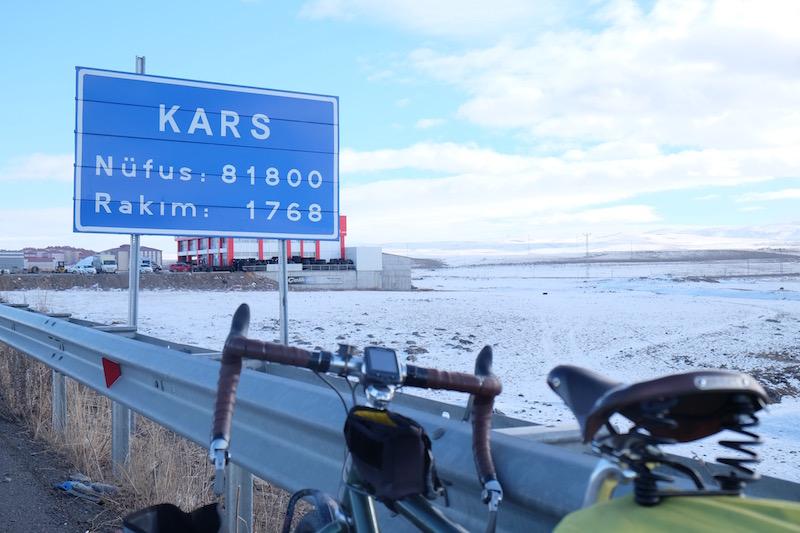 Kars, which translates to 'snow'